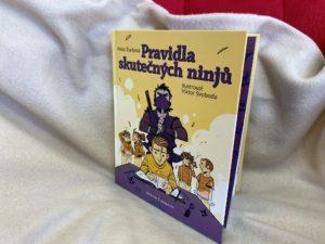 knížka pro děti Pravidla skutečných ninjů o problémovém chování