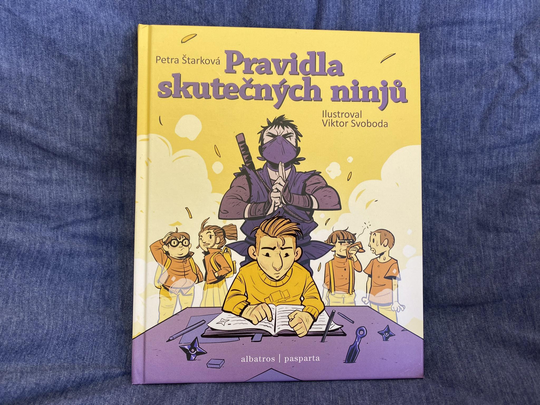 knížka pro děti Pravidla skutečných ninjů řešení problémů