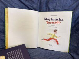 kniha pro děti o ADHD Můj brácha Tornádo